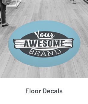Floor Graphics & Decals Example
